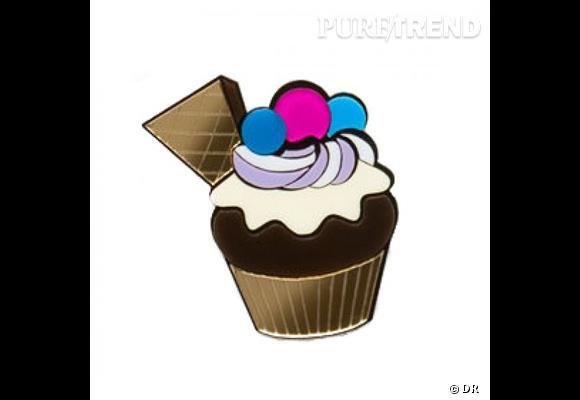 Broche Cupcake Yazbukey Un cupcake c'est bien, mais épinglé