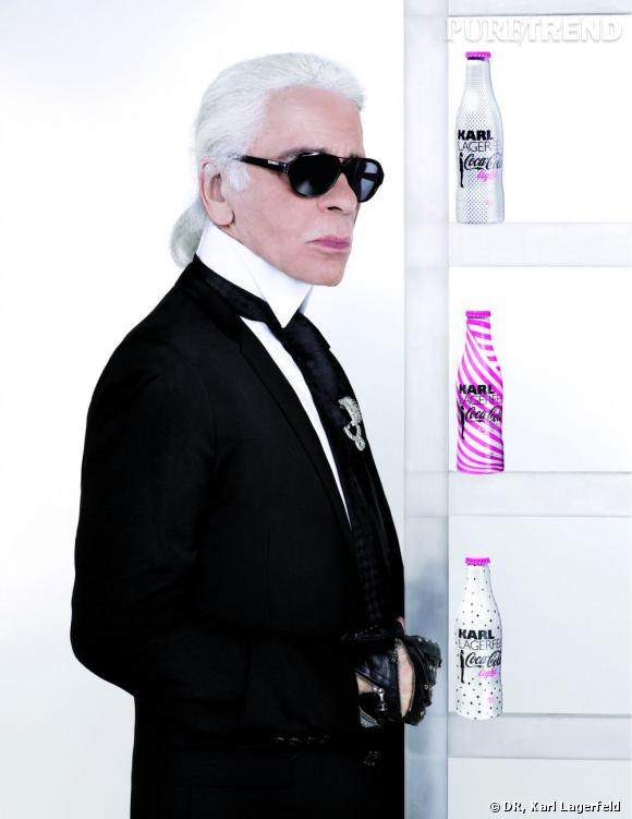 Collection édition limitée Coca-Cola Light by Karl Lagerfeld.
