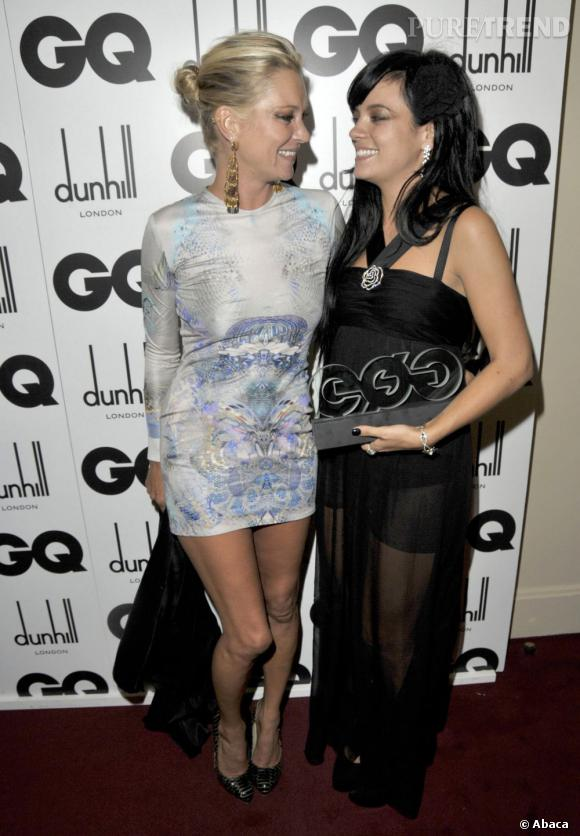 Lily Allen et Kate Moss, copines déchainées ont fait les 400 coups. Une page se tourne...