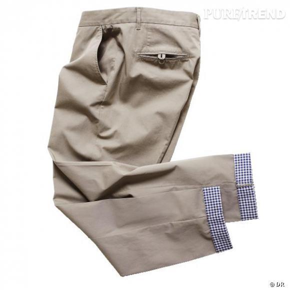 pantalon h m le pantalon chino directement shopper au rayon homme prix 3995 puretrend. Black Bedroom Furniture Sets. Home Design Ideas