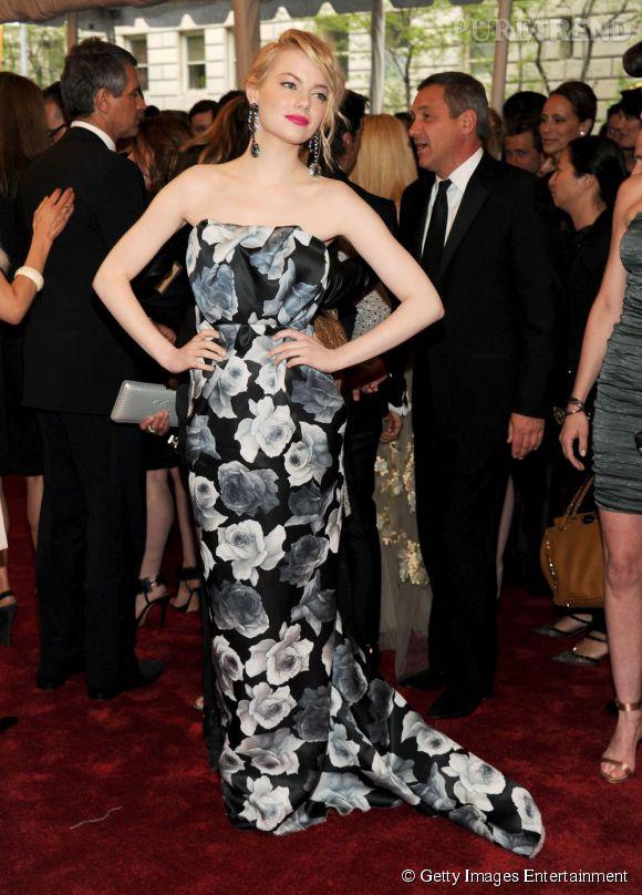 Emma Stone, divine.