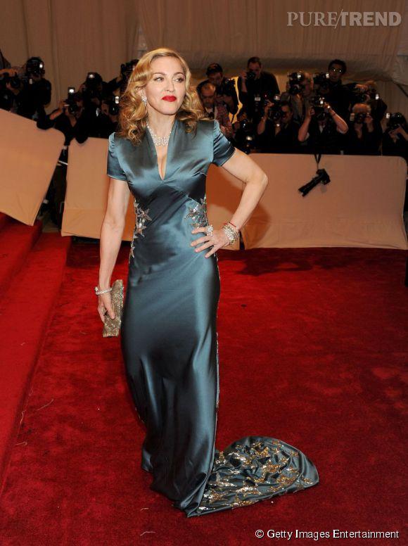Madonna, plus pudique que d'habitude.
