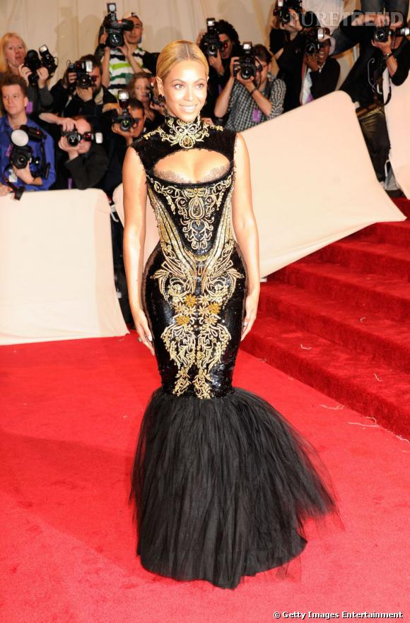 Beyonce d'humeur moulante.