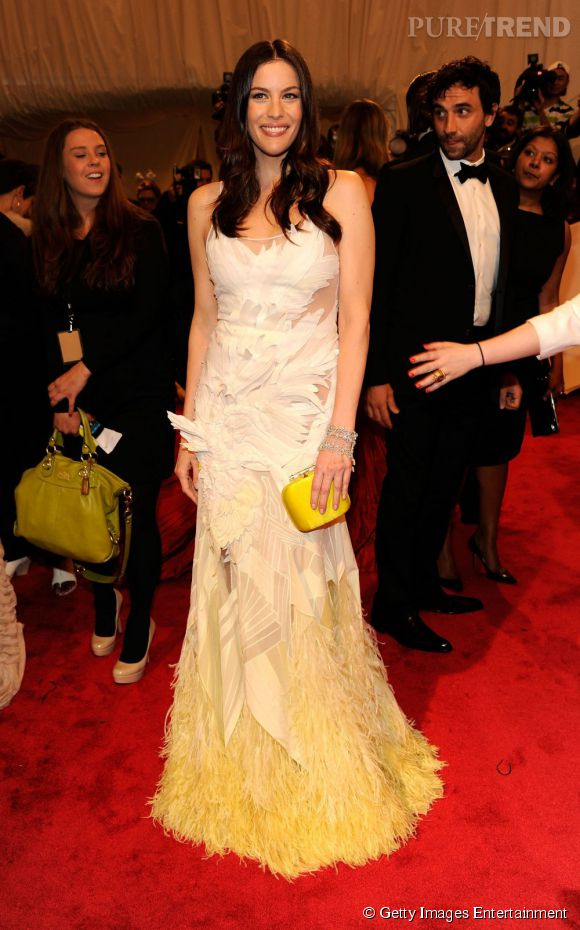Liv Tyler en Givenchy.