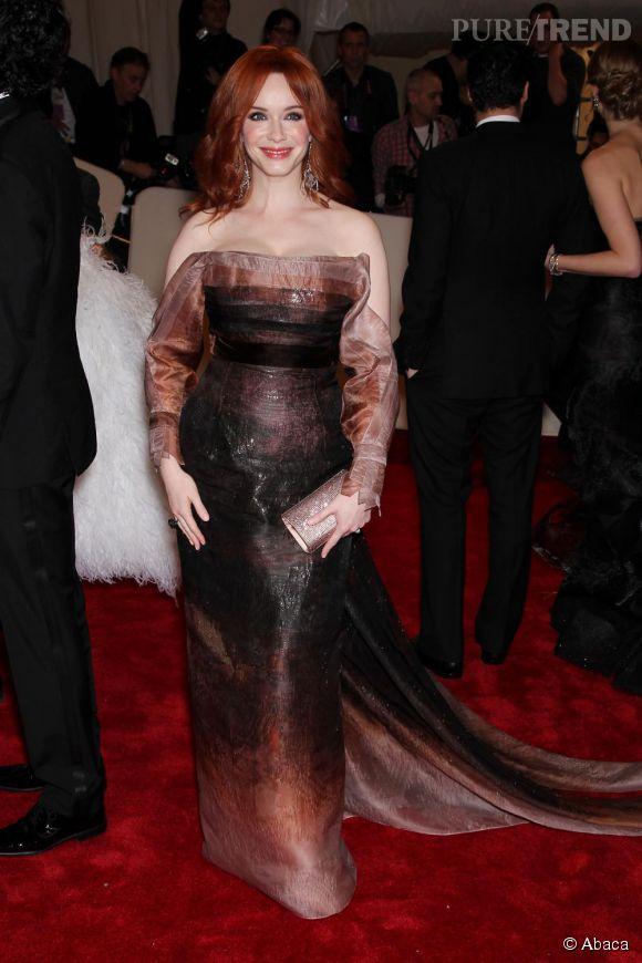 Christina Hendricks, toujours très en formes.