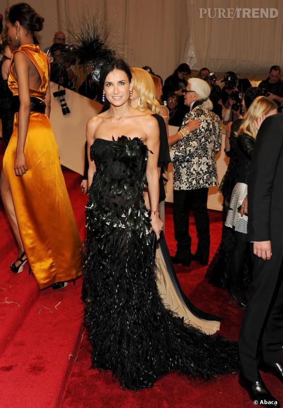 Demi Moore au MET 2011 à New York.