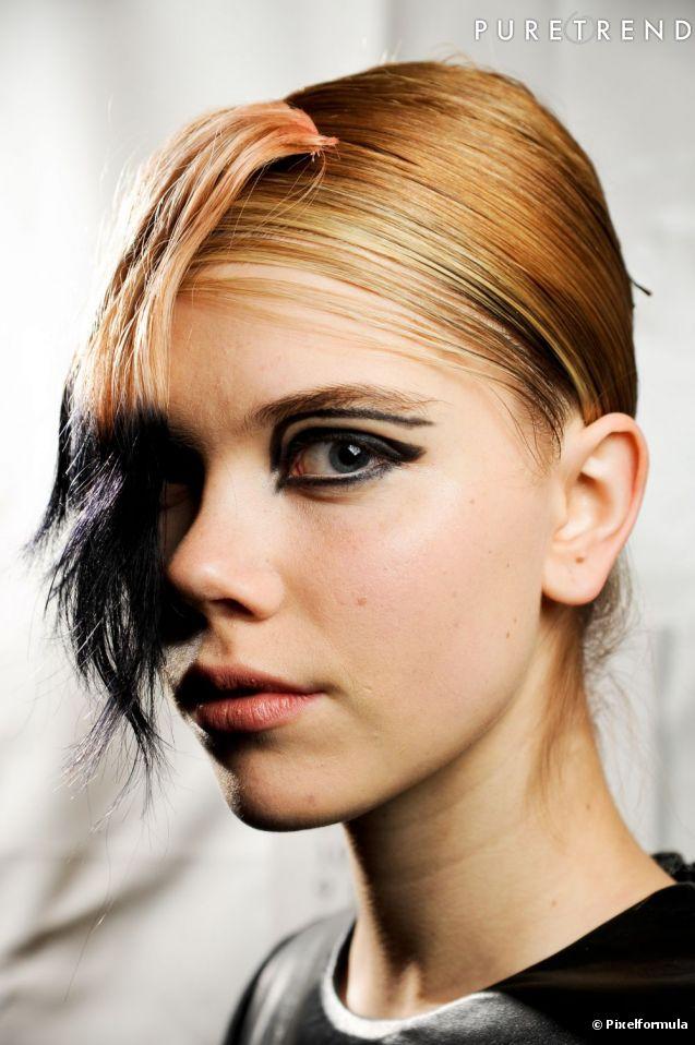 comment se coiffer une frange
