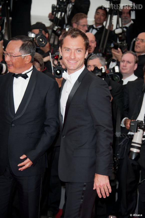 Jude Law à la cérémonie d'ouverture du Festival de Cannes 2011.