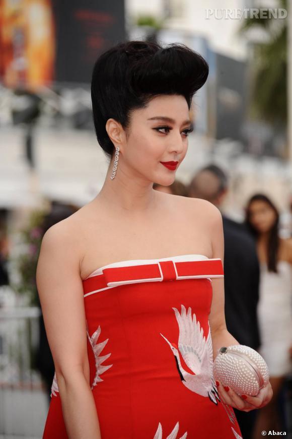 Fan BingBing lors de la cérémonie d'ouverture du 64e Festival de Cannes.