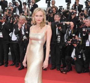 Diane Kruger, romantique, électrise Cannes