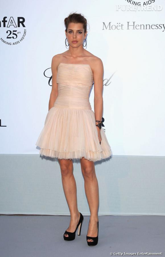 Charlotte Casiraghi, tout simplement lumineuse en robe Chanel.