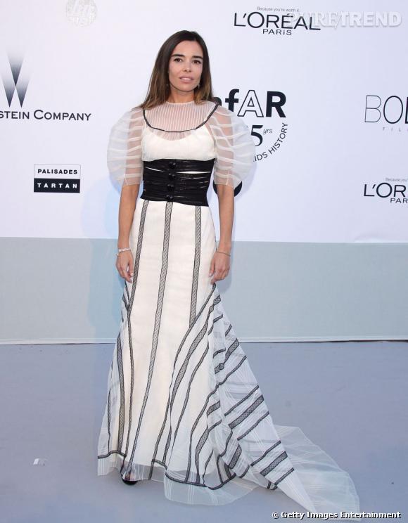 Elodie Bouchez, ultra audacieuse ose la robe sculpturale.