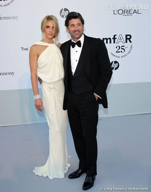 La beau Patrick Dempsey au côté de sa femme, Jillian Dempsey.