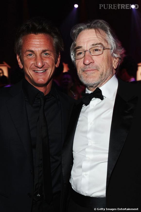 Deux monstres du cinéma : Sean Penn et Robert de Niro.