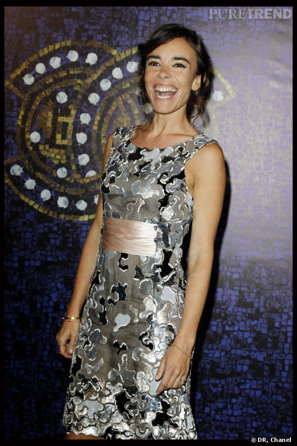 """Elodie Bouchez au défilé Chanel """"Paris-Byzance"""", à Istanbul."""