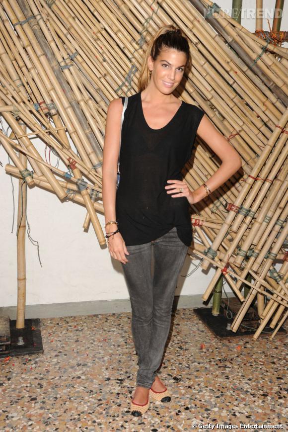 Bianca Brandolini d'Adda au cocktail Hogan et Big Bambu, à Venise.