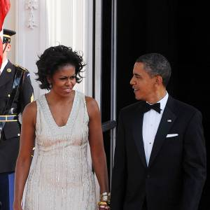Michelle et Barack Obama : un couple chic et glamour.