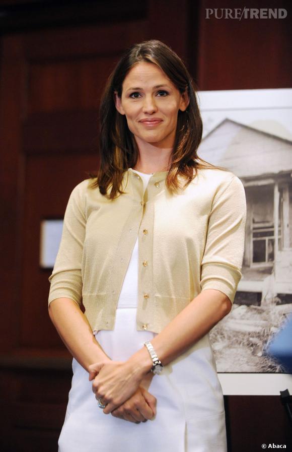 """Jennifer Garner donne une conférence pour """"Save the Children"""", à Washington."""