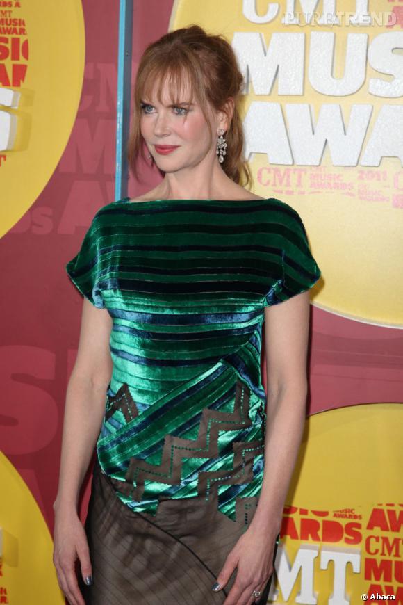 Nicole Kidman, une apparition ratée au CMT Music Awards à Nashville.