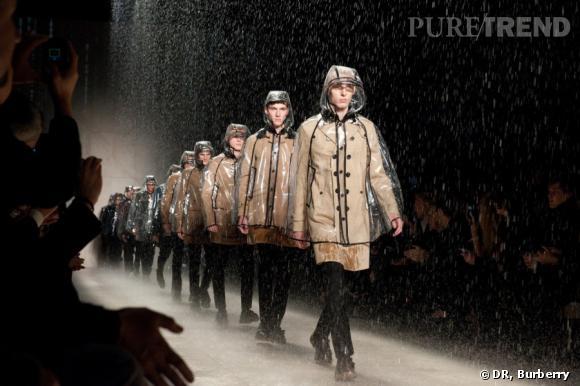 Défilé Burberry Homme, collection automne-hiver 2011/2012.