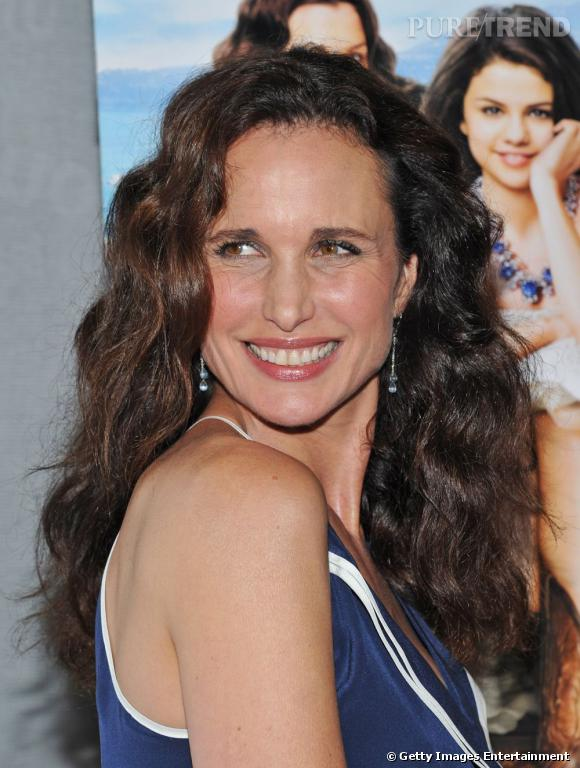 Andie MacDowell à la première de Monte Carlo à New York.