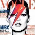 Kate Moss pour le Vogue UK, mai 2003.