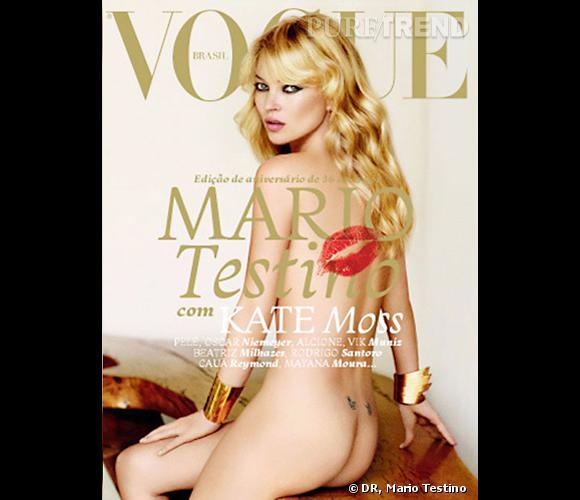 Kate Moss pour le Vogue Brésil, mai 2011.