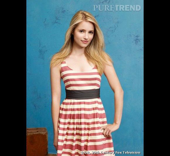 Les canons de beauté dans les séries     Série  : Glee    Nom  : Dianna Agron