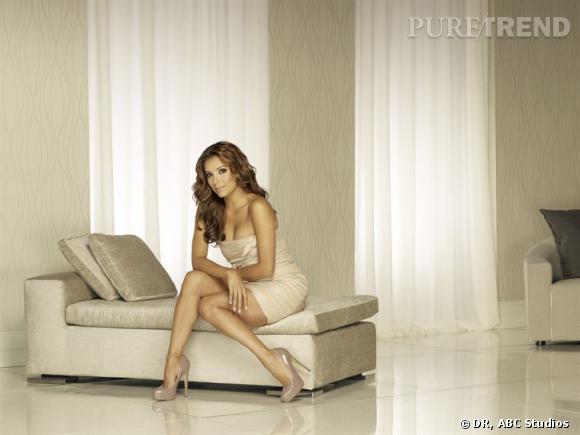 Les canons de beauté dans les series     Série  : Desperate Housewives    Nom  : Eva Longoria
