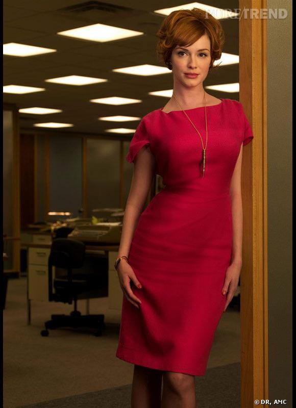 Les canons de beauté dans les séries     Série  : Mad Men    Nom  :Christina Hendriks