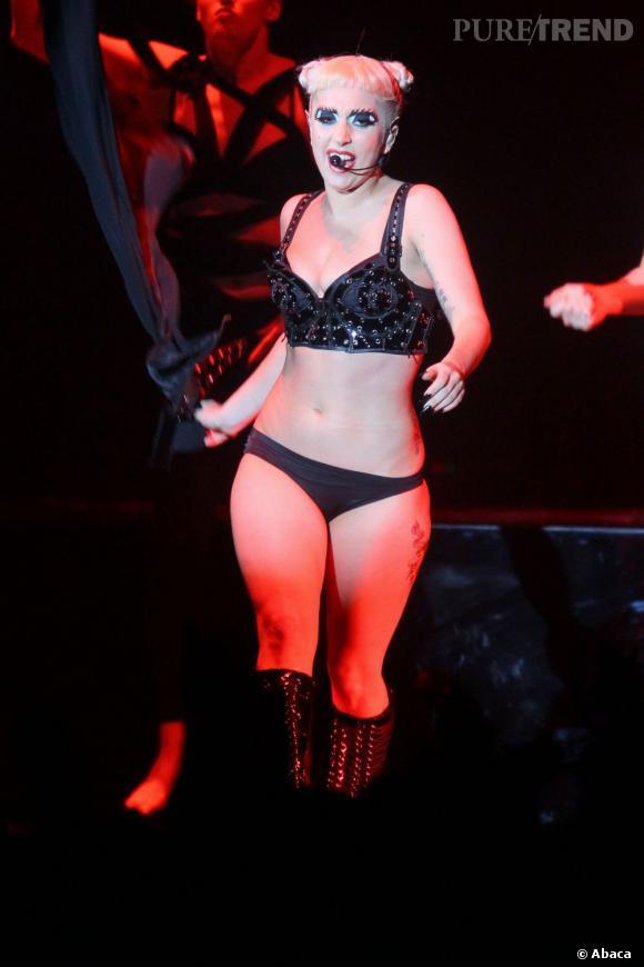 Lady Gaga manga raté.