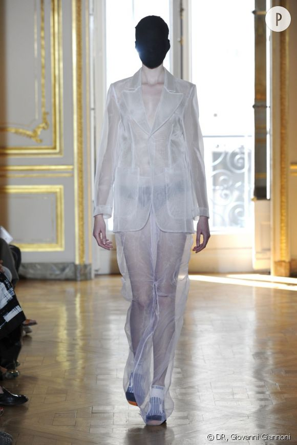 Défilé Maison Martin Margiela Haute Couture - Artisanat automne-hiver 2011/2012.