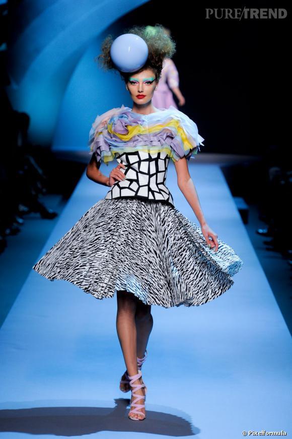 Défilé Dior Haute Couture automne-hiver 2011/2012.