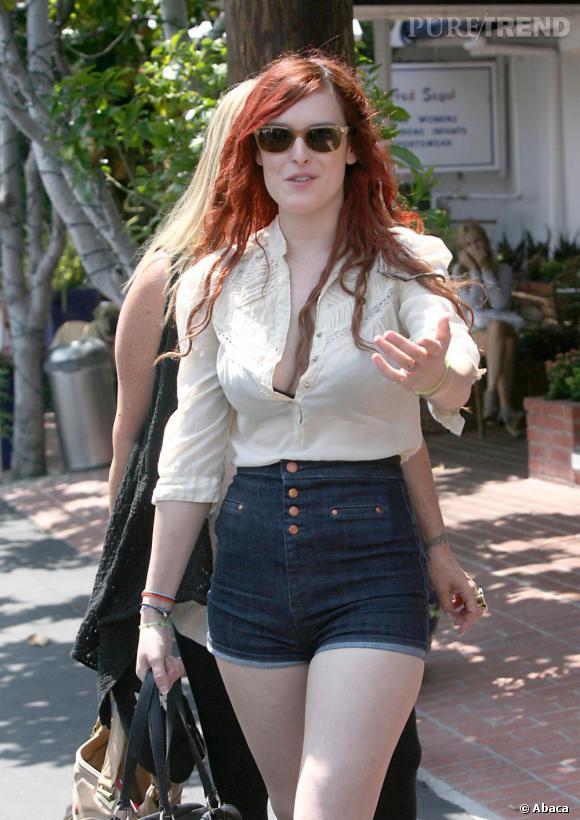 Rumer Willis opte pour une tenue ultra sexy dans les rues de Los Angeles.