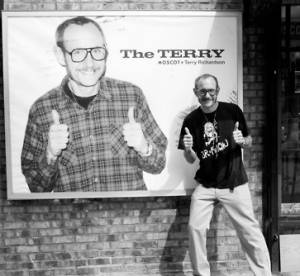 Les lunettes Terry Richardson X Moscot : The Terry