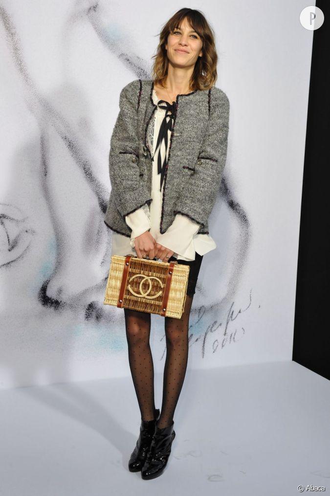 Panier Osier Jane Birkin : Mordue de mode alexa chung trouve un compromis en