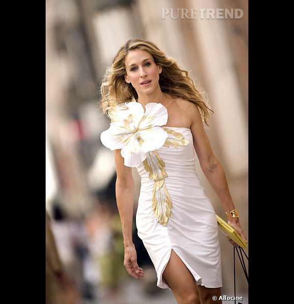 """Carrie Bradshaw, bientôt de retour dans un troisième volet de """"Sex and th City"""" au cinéma."""