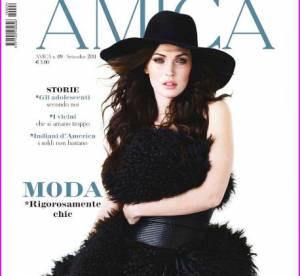Megan Fox, une séductrice poilue en couverture d'Amica
