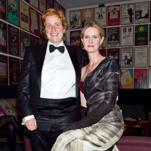 Cynthia Nixon et sa compagne Christine Marinoni.