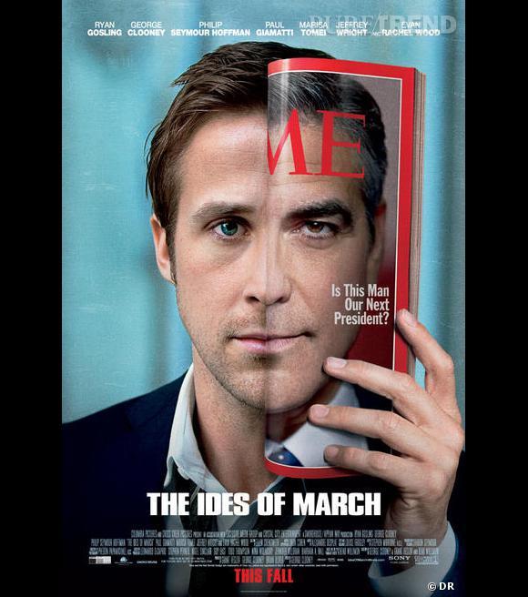 """Ryan Gosling/George Cloones dans l'attendu """"Les Marches du pouvoir""""."""