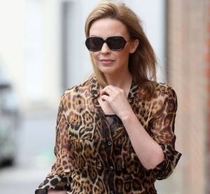Kylie Minogue, tigresse casual