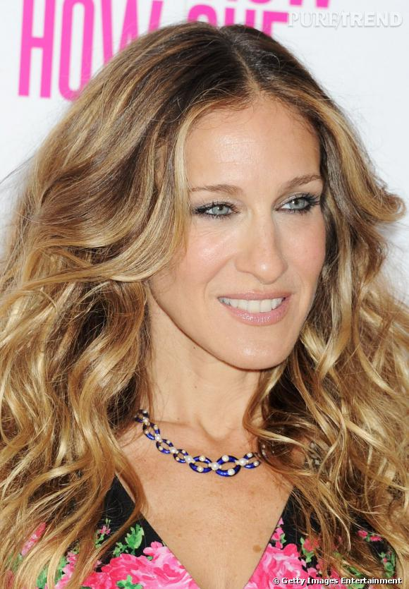 sarah jessica parker pr f re le blond cendr pour un r sultat lumineux puretrend. Black Bedroom Furniture Sets. Home Design Ideas