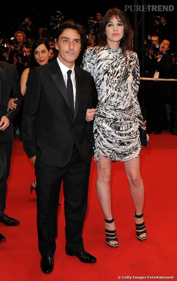 Charlotte Gainsbourg en Balenciaga à la première du film Antichrist de Lars Von Trier en 2009.