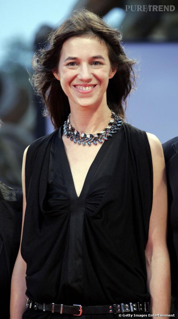 Charlotte Gainsbourg en Balenciaga au festival du film de Venise en 2006.