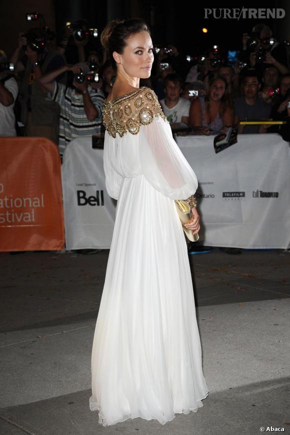 """Olivia Wilde à la première de """"Butter"""" pendant le Festival du Film de Toronto."""
