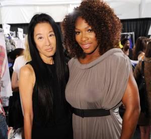 Vera Wang et Serena Williams.