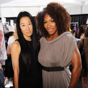 Vera Wang et Serena Williams.