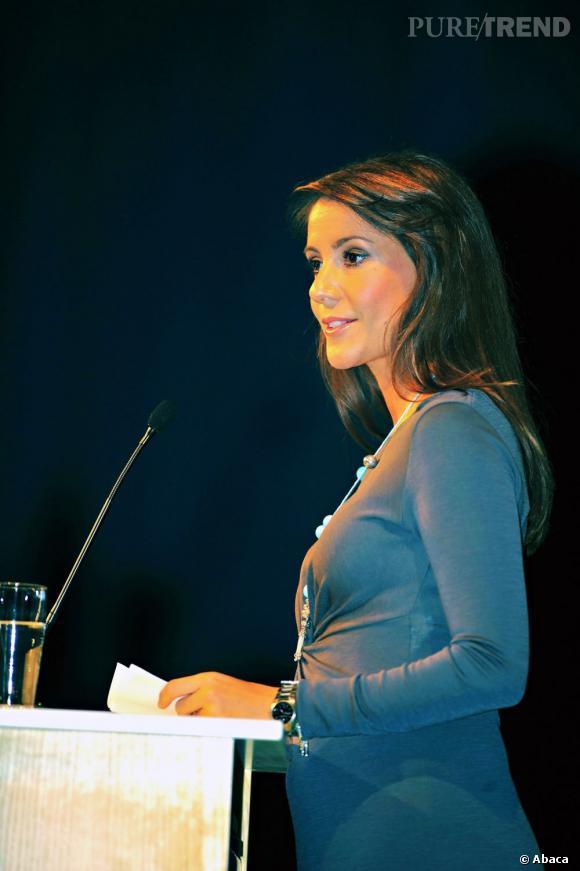Princesse Marie du Danemark lors d'une conférence de presse de EAIA à Copenhague.