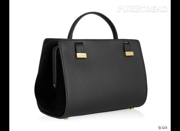 Wanted : les sacs The Row des soeurs Olsen !    Modèle : Doctor Bag.   Prix : 3850 €.   A shopper sur  www.net-a-porter.com