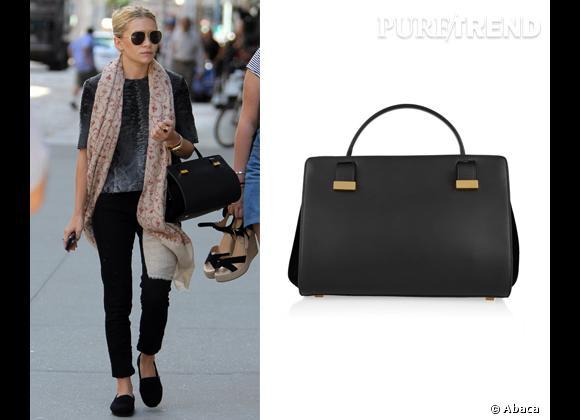 """Wanted : les sacs The Row des soeurs Olsen ! Mary Kate Olsen ne quitte plus son """"Doctor Bag"""" The Row. Un sac qu'elle a imaginé avec sa soeur Ashley !"""